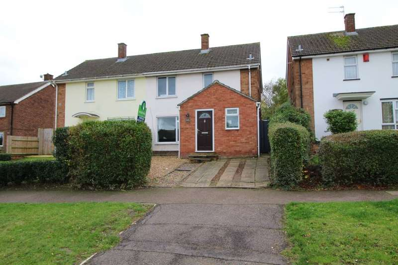 3 Bedrooms Semi Detached House for sale in Mallard Hill, Bedford, Bedfordshire, MK41
