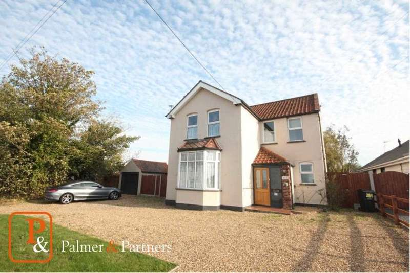 4 Bedrooms Detached House for sale in Harwich Road, Little Clacton
