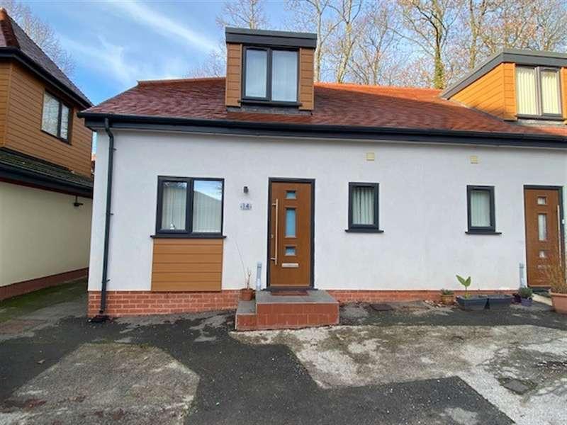 2 Bedrooms Semi Detached Bungalow for rent in The Lodge, Cannock