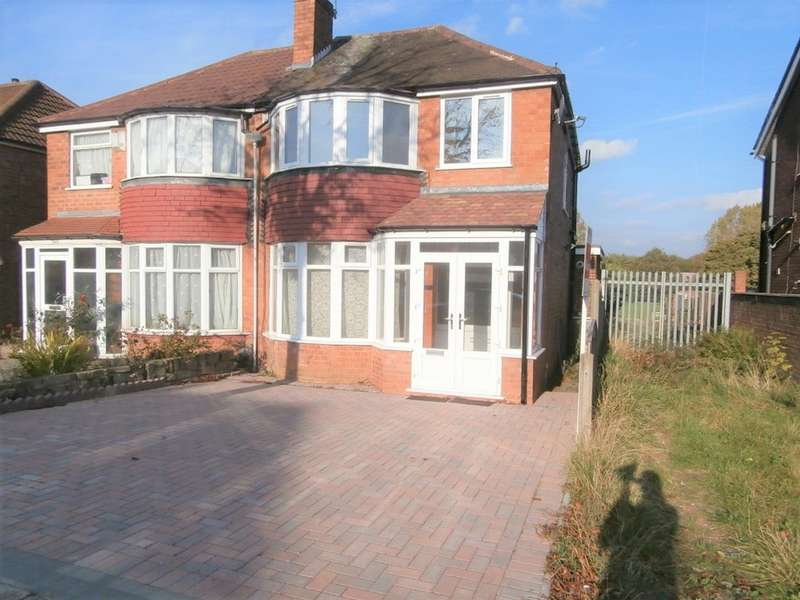 3 Bedrooms Semi Detached House for rent in Turnberry Road, Great Barr, B42