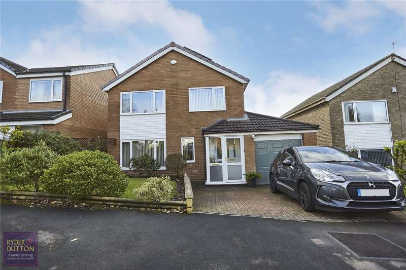 3 Bedrooms Detached House for sale in Cherry Crescent, Rawtenstall, Rossendale, BB4