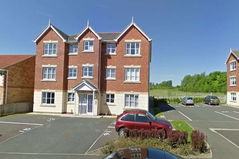 2 Bedrooms Flat for rent in Glamis Court, Woodstone Village, Houghton Le Spring, DH4