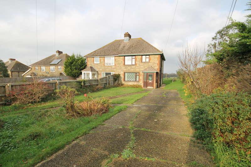 3 Bedrooms Semi Detached House for sale in Newbridge, Isle of Wight