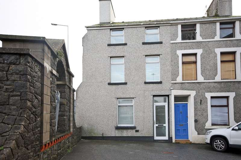 3 Bedrooms End Of Terrace House for sale in Pool Lane, Caernarfon, Gwynedd, LL55