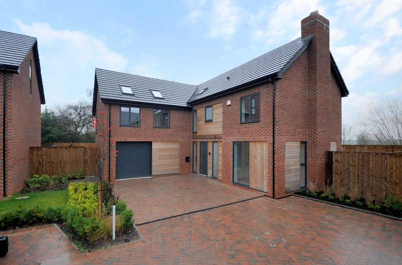 5 Bedrooms Detached House for sale in Culcheth Hall Drive, Culcheth, Warrington, WA3