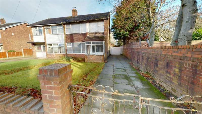 3 Bedrooms Semi Detached House for sale in Crescent Road, Great Lever, Bolton, BL3 2NA