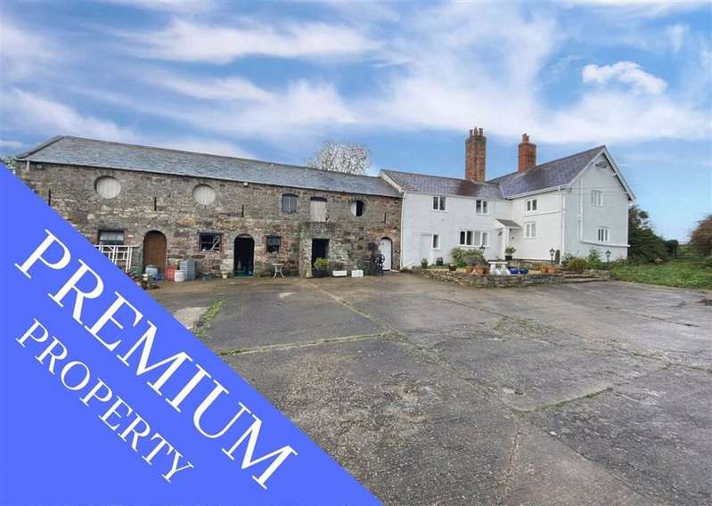 5 Bedrooms Farm House Character Property for sale in Nercwys Road, Nercwys, Flintshire