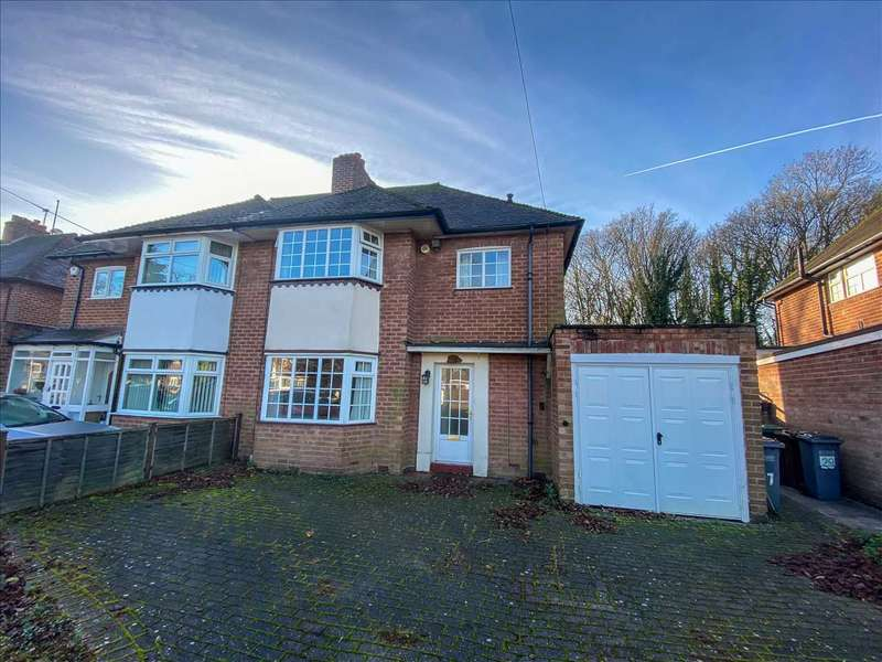 3 Bedrooms Semi Detached House for rent in Highwood Avenue, Solihull, West Midlands