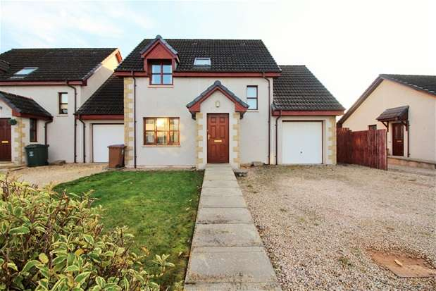 4 Bedrooms Link Detached House for sale in Knockomie Gardens, FORRES
