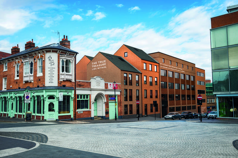 3 Bedrooms Flat for sale in Treasure House, Carver Street, Jewellery Quarter, B1