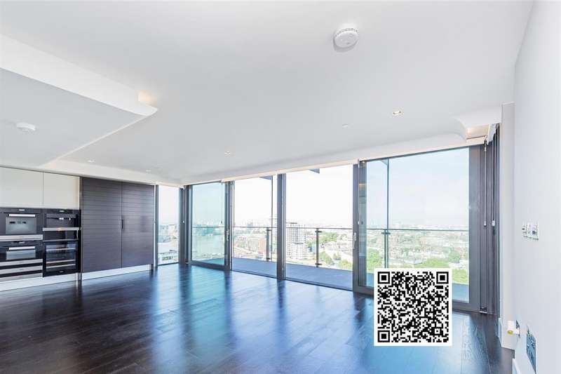 3 Bedrooms Flat for rent in Merano Residences, 30 Albert Embankment, Nine Elms, SE1