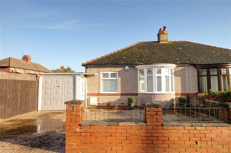 2 Bedrooms Semi Detached Bungalow for sale in Ripon Drive, Darlington, DL1