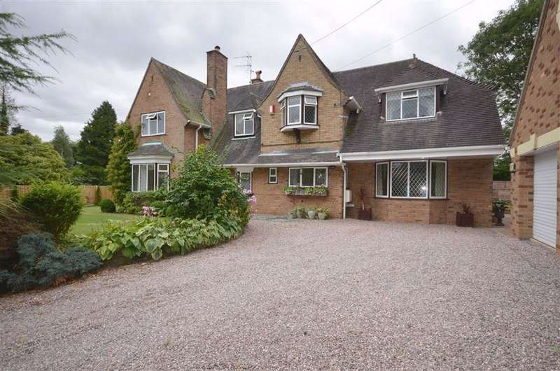 5 Bedrooms Detached House for sale in Longton Road, Barlaston