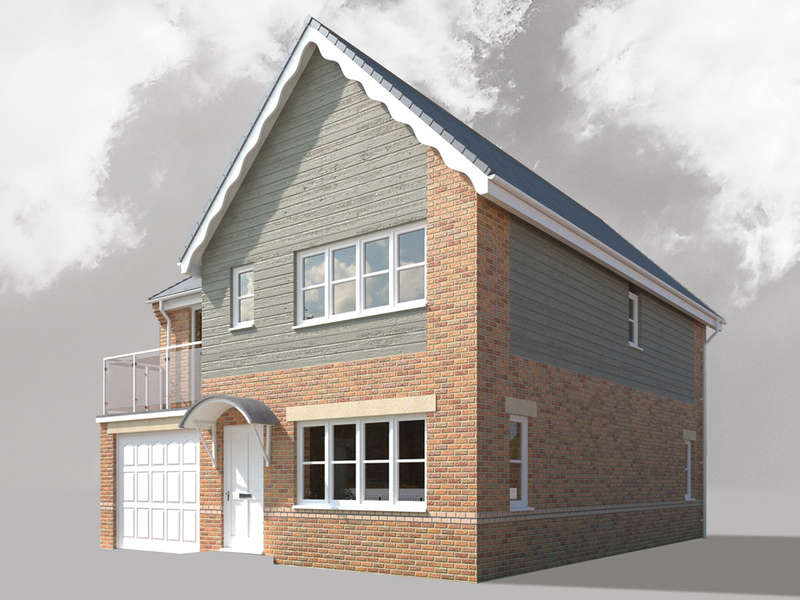 4 Bedrooms Detached House for sale in The Aire, Water View, Castleford