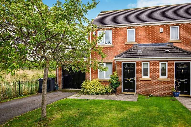3 Bedrooms Semi Detached House for rent in Ridgewood Close, Darlington, DL1