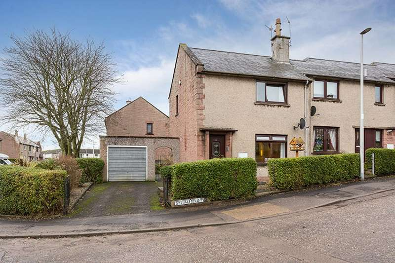 2 Bedrooms End Of Terrace House for sale in Spitalfield Place, Arbroath, DD11 2HU