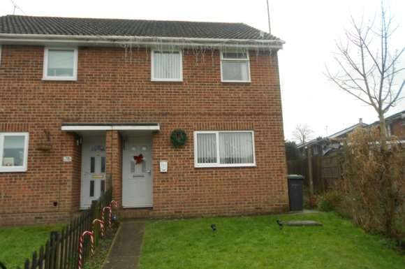 2 Bedrooms Semi Detached House for rent in Shaftesbury Avenue, Waterlooville, PO7