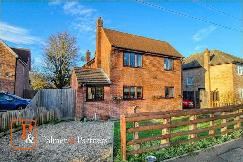 4 Bedrooms Detached House for sale in Old London Road, Marks Tey, Colchester CO6