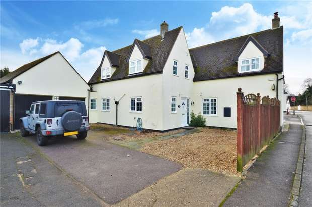 3 Bedrooms Detached House for sale in High Street, Roxton, Bedford, Bedforshire