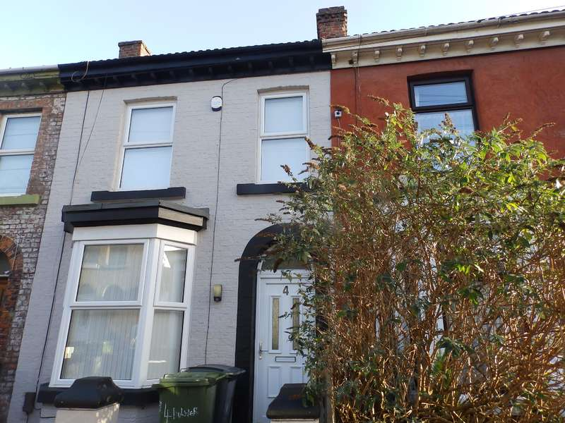 2 Bedrooms Terraced House for rent in Bulwer Street, Birkenhead, CH42 2BS