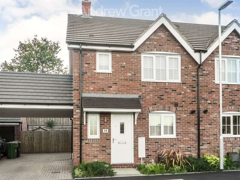 3 Bedrooms Semi Detached House for rent in Cowslip Close, Catshill, Bromsgrove, Worcestershire, B61