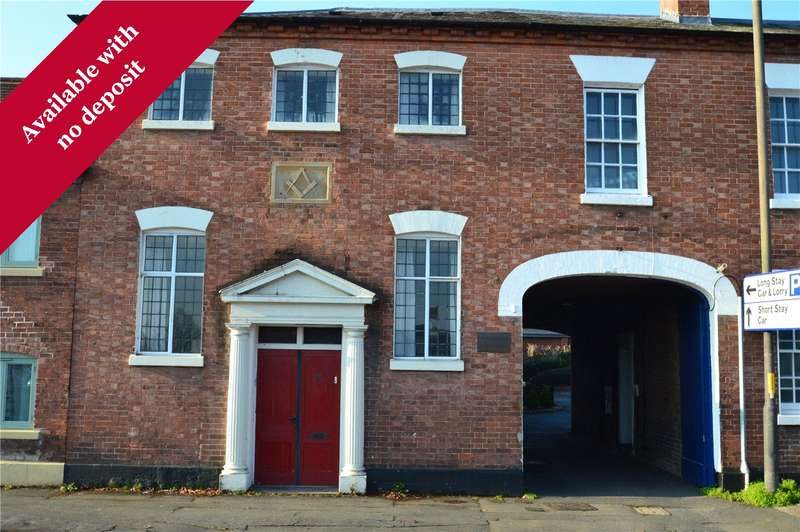1 Bedroom Flat for rent in Flat 8 The Old Malthouse, 40 South Street, Leominster, HR6