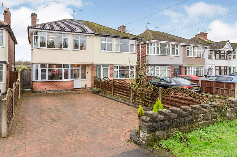 3 Bedrooms Semi Detached House for sale in Coventry Road, Hinckley, Leicestershire, LE10