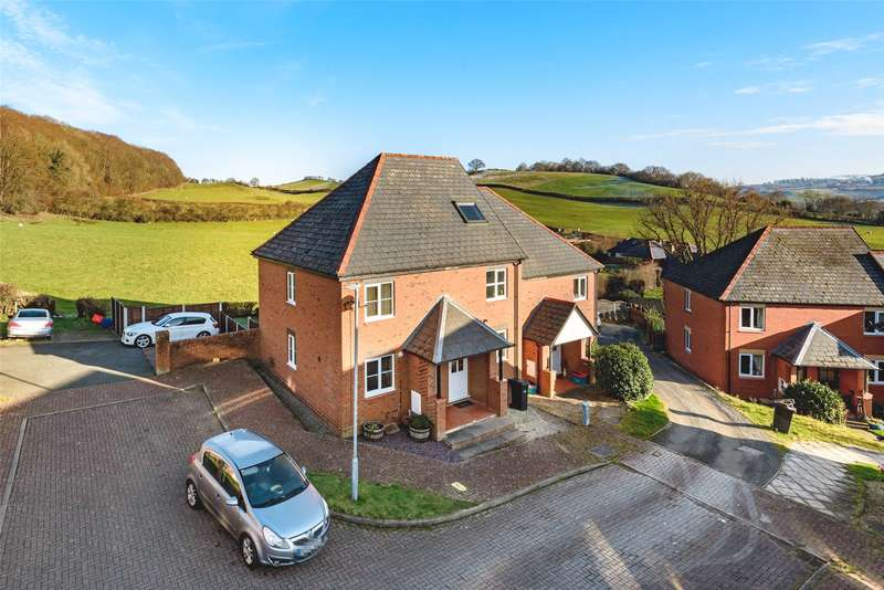 2 Bedrooms Semi Detached House for sale in 9 Heather Close, Newtown, Powys, SY16 2TF