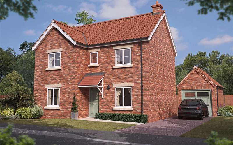 4 Bedrooms Detached House for sale in Plot 144, The Sanderlings, Mablethorpe