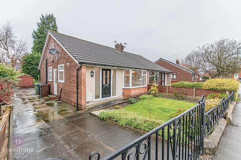 2 Bedrooms Semi Detached Bungalow for sale in Calow Drive, Leigh, Greater Manchester. WN7 3DA