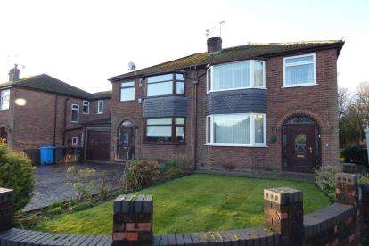 3 Bedrooms Semi Detached House for sale in Leconfield Road, Eccles, Manchester, Greater Manchester