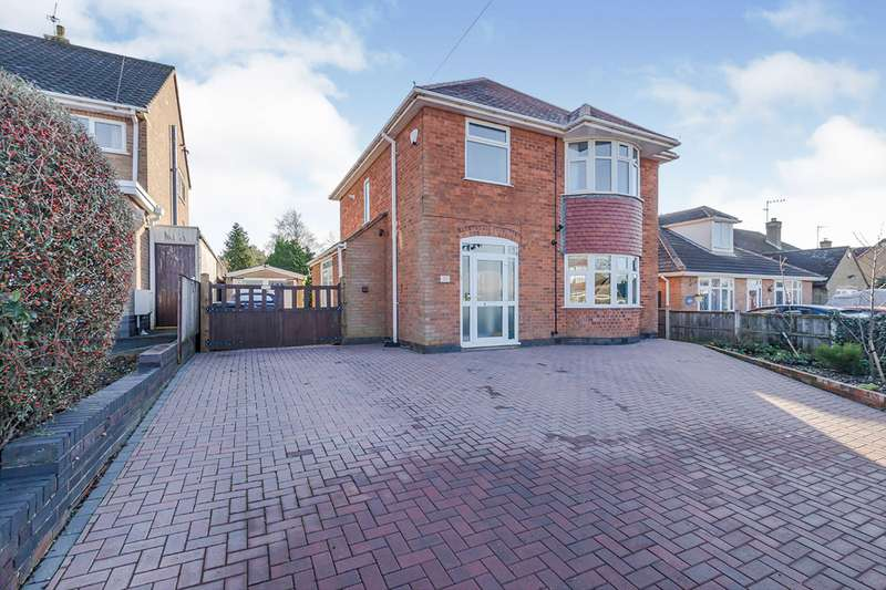 3 Bedrooms Detached House for sale in Sunnyside, Hinckley, Leicestershire, LE10