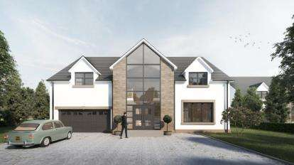 5 Bedrooms Detached House for sale in Heads Farm, Glassford