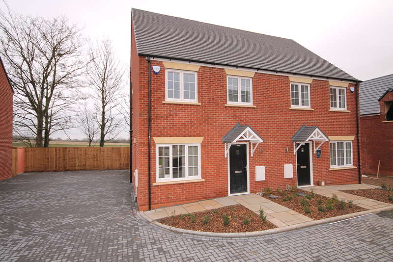 3 Bedrooms Semi Detached House for sale in Plot 65 The Maple, Nightingale Road, Great Barford, Bedford, MK44