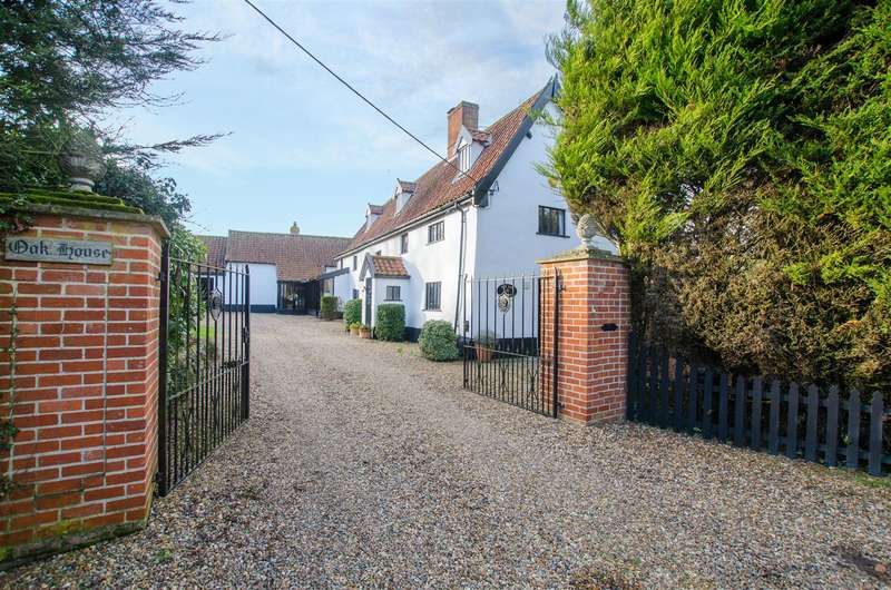 5 Bedrooms Detached House for sale in Tibenham, NR16