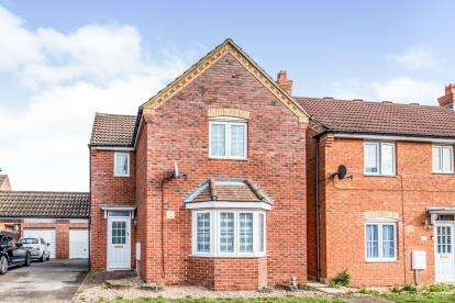 3 Bedrooms Detached House for sale in Miller Close, Clapham, Bedford, Bedfordshire