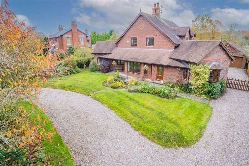 5 Bedrooms Detached House for sale in Dicklow Cob, Lower Withington