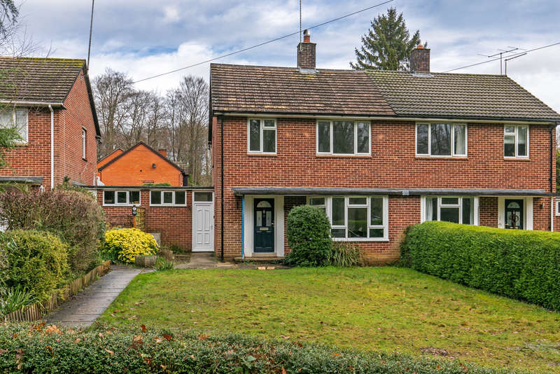 3 Bedrooms Semi Detached House for sale in Waterworks Road, Otterbourne, Winchester, SO21