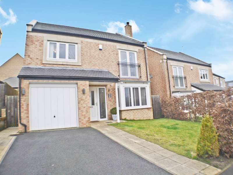 4 Bedrooms Detached House for sale in Fern Close, Prudhoe, NE42