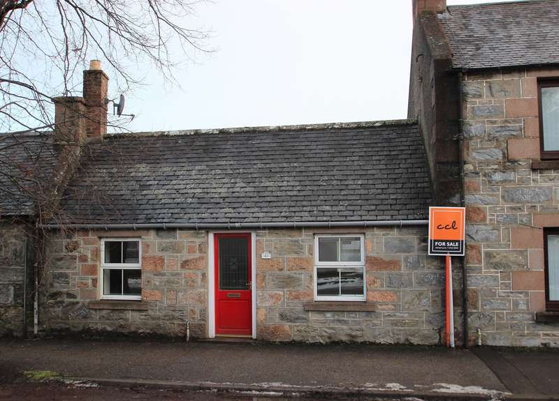 1 Bedroom Cottage House for sale in Church Street, Dufftown, Keith, AB55
