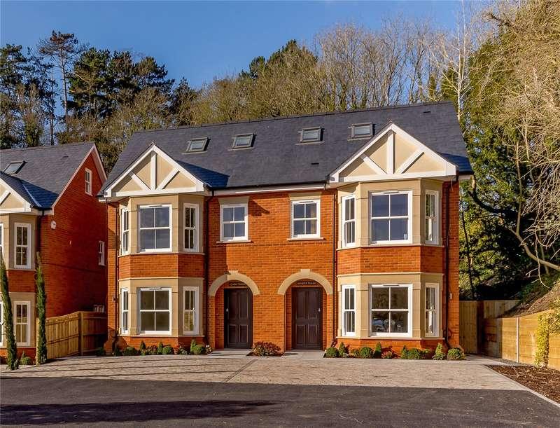 4 Bedrooms Semi Detached House for sale in Chalkpit Lane, Marlow, Buckinghamshire, SL7