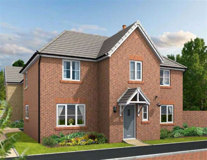 4 Bedrooms Detached House for sale in Lister Gardens, Off Box Road, Cam, GL11