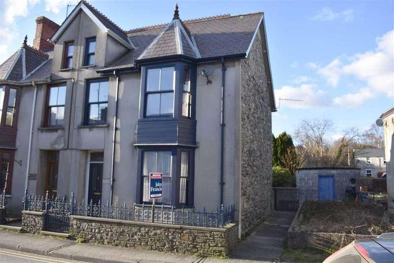 3 Bedrooms Semi Detached House for sale in Chapel Street, Tregaron
