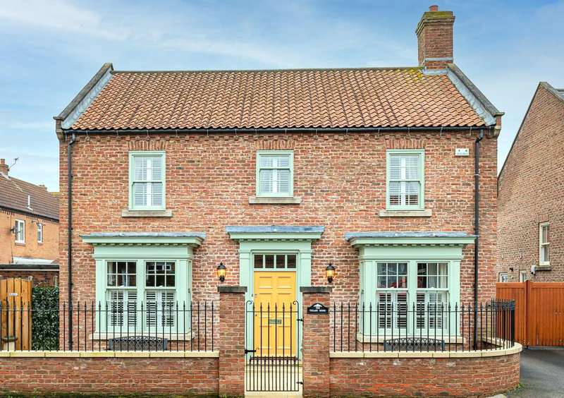4 Bedrooms Detached House for sale in The Village House, Main Street, Knapton, York, YO26 6QG
