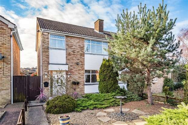 3 Bedrooms Semi Detached House for sale in Aviary Walk, Bedford