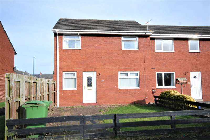 2 Bedrooms End Of Terrace House for sale in Wilton Gardens South, Boldon Colliery