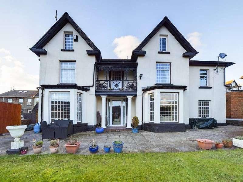 5 Bedrooms Detached House for sale in Tyfica Road, Pontypridd, Rhondda Cynon Taff. CF37 2DA
