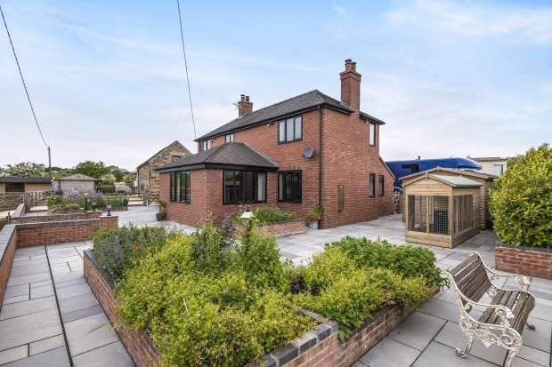 Detached House for sale in Butterton, Leek, Staffordshire, ST13 7TD