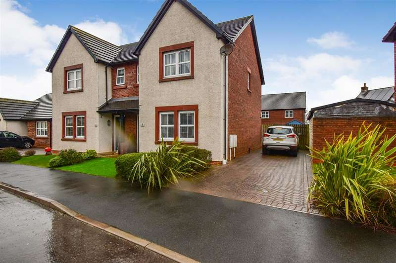 3 Bedrooms Semi Detached House for sale in St Mungos Close, Dearham, Maryport