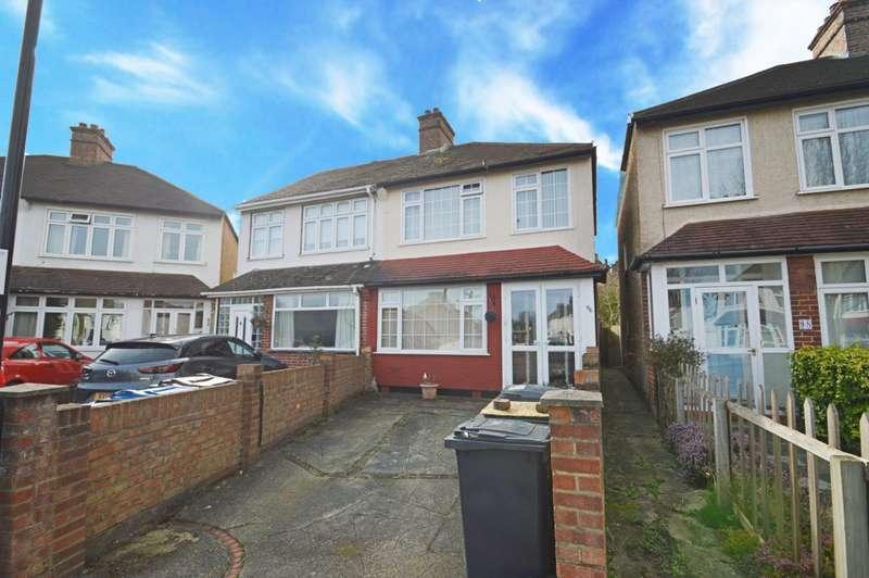3 Bedrooms Semi Detached House for sale in Capri Road, Croydon